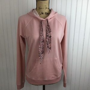 Lucky Brand Blush Pink Hoodie Small